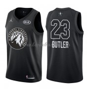 Maillot NBA Pas Cher Minnesota Timberwolves Jimmy Butler 23# Black 2018 All Star Game Swingman..